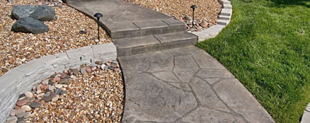 Aggregate and Stamped Concrete Sealing