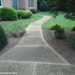 HAMPTON AGGREGATE AND STAMPED CONCRETE SEALING BEFORE