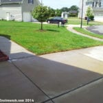 Rust Removal Service Before Virginia Driveway & Concrete Cleaning Services